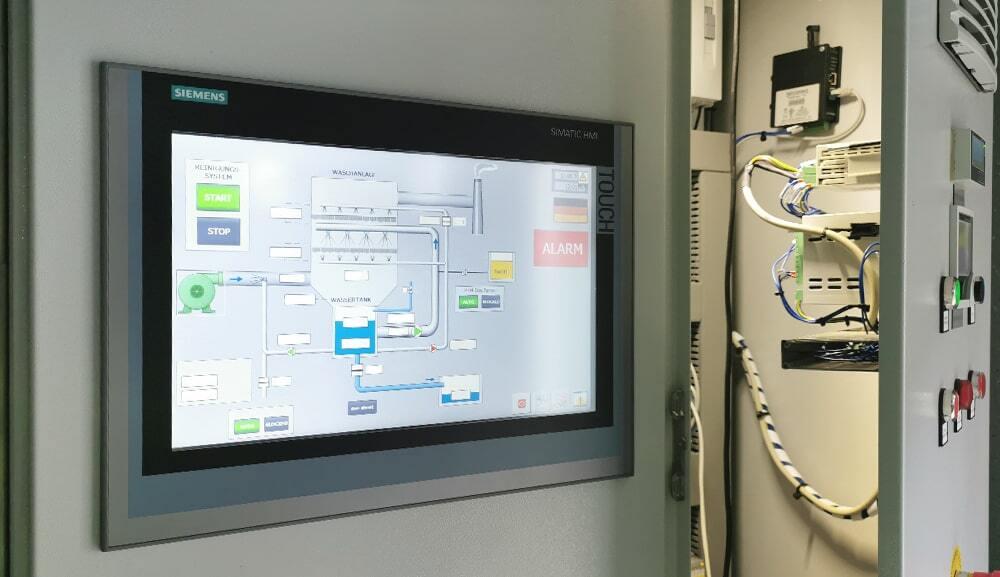 digital control units touchscreens